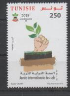 TUNISIA ,2015, MNH, INTERNATIONAL YEAR OF SOIL,1v - Protection De L'environnement & Climat