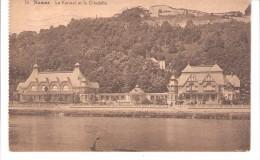 Namur-1935-Le Casino (Kursaal) Et La Citadelle-la Meuse Edition Belge-Timbre Mercure De 1932 COB 340-(voir Scan) - Namur