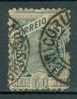 BRASIL 1894-1904: Yv 81 / Sc 115, O - FREE SHIPPING ABOVE 10 EURO - Brasil