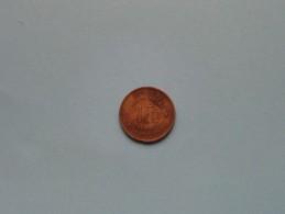 1944 - 1 FR / KM 26 ( Uncleaned Coin / For Grade, Please See Photo ) !! - Congo (Belge) & Ruanda-Urundi