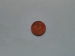 1944 - 1 FR / KM 26 ( Uncleaned Coin / For Grade, Please See Photo ) !! - Congo (Belgian) & Ruanda-Urundi