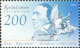 2005 - KAZAKHSTAN - BICENTENARIO DELLA NASCITA DI H. CH. ANDERSEN / BICENTENNIAL OF BIRTH OF H. CH. ANDERSEN. MNH - Kazakistan