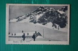 CARTOLINA  CHAMPORCHER (CAMPO LARIS)  DONDENA    - AFFRANCATA IMPERIALE  1943 - Sport Invernali