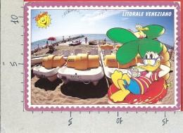 CARTOLINA VG ITALIA - ERACLEA (VE) - Litorale Veneziano - Disney - Paperino - 12 X 17 - ANN. 1996 - Venezia (Venice)