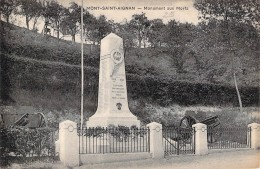 Mont Saint Aignan Monument Aux Morts Ww1 1914 1918  2 Canons  Normandie  76  Seine Maritime - Mont Saint Aignan