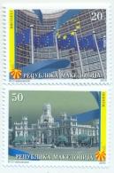 MK 2010-544-5 MK IN EU, MACEDONIA, 1 X 2v, MNH - Macédoine