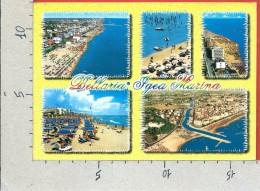 CARTOLINA VG ITALIA - BELLARIA - IGEA MARINA (RN) - Spiaggia - Vedutine - Panorama - 12 X 17 - ANN. 2006 - Rimini