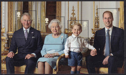 Great Britain Queen Elisabeth 90th Birthday Prestige Booklet Pane 3 - Libretti