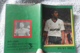 Small Agenda Ricky Hill Vintage Soccer Calcio Football - Football - NFL