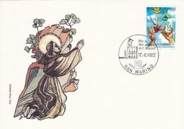 San Marino FDC 10.6.1982. - Christianisme