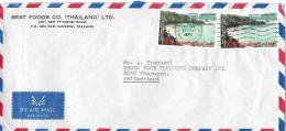 THAILAND - THAYNGEN → Par Avion/Luftpostbrief 1976 - Thaïlande