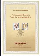 ALLEMAGNE  Carte  Notice 1er Jour  1994   Rahel Varnhagen Von Ense  Luise Henriette Von Oranien