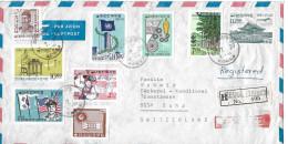 SEOL - SUHR → Par Avion/Luftpostbrief 1965 ►Registered◄ - Corée Du Sud