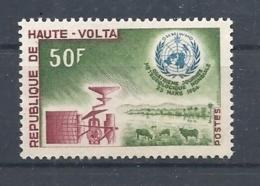 ALTO VOLTA   1964 World Meteorological Day         MNH - Alto Volta (1958-1984)
