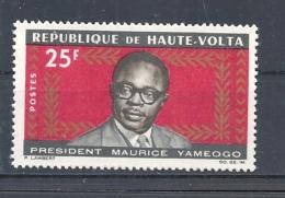 ALTO VOLTA   1965 President Maurice Yameogo Commemoration, 1921-1993       MNH - Alto Volta (1958-1984)
