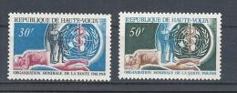 ALTO VOLTA   1968 Airmail - The 20th Anniversary Of W.H.O.     MNH - Alto Volta (1958-1984)