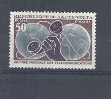 ALTO VOLTA  1971 World Telecommunications Day     MNH - Alto Volta (1958-1984)