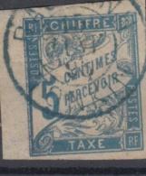 #108# COLONIES GENERALES TAXE N° 18 Oblitéré En Bleu Bac-Ninh (Annam)