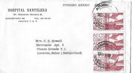 MEXICO - LOCARNO → Air Mail/Luftpostbrief 1962 - Mexique