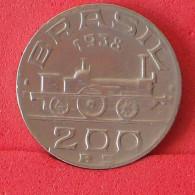 BRAZIL 200 REIS 1938 -    KM# 537 - (Nº16578) - Brésil