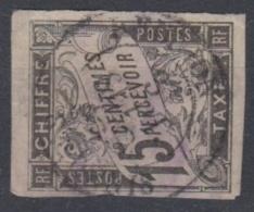 #108# COLONIES GENERALES TAXE N° 7 Oblitéré St-Denis (Réunion)