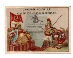 Casiez-Bourgeois. Chicoree Nouvelle.Cambrai.Turquie. Sultan. - Chromos