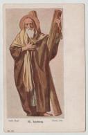 Saint Hl. Andreas Andras Szent Graphic Art 1900 Post Card Postkarte Karte Carte Postale POSTCARD - Personnages Historiques