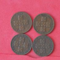PORTUGAL    - 4 COINS    - 2 SCANS - (Nº16594) - Portugal