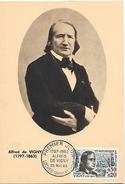 37  LOCHES Alfred De Vigny 1797/1863 Poète  25/05/63 - Schrijvers