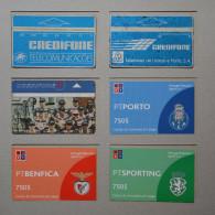 6 CREDIFONES    - 2 SCANS - (Nº16597) - Portugal