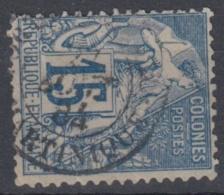 #108# COLONIES GENERALES N° 51 Oblitéré Fort-de-France (Martinique)