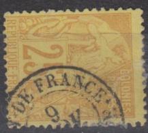 #108# COLONIES GENERALES N° 53 Oblitéré Fort-de-France (Martinique)