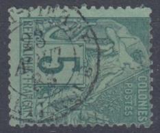 #108# COLONIES GENERALES N° 49 Oblitéré Saint-Pierre (Martinique)