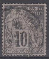#108# COLONIES GENERALES N° 50 Oblitéré Saint-Pierre (Martinique)