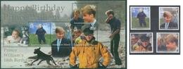2000 - ASCENSION - 18mo COMPLEANNO DEL PRINCIPE WILLIAM / 18th BIRTHDAY OF PRINCE WILLIAM. MNH - Ascensione