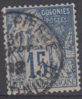 #108# COLONIES GENERALES N° 51 Oblitéré Saint-Pierre (Martinique)