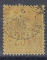 #108# COLONIES GENERALES N° 53 Oblitéré Saint-Pierre (Martinique)