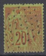 #108# COLONIES GENERALES N° 52 Oblitéré Losange