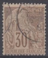 #108# COLONIES GENERALES N° 55 Oblitéré Gorée (Sénégal)