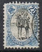 COTE DES SOMALIS N°60 - Used Stamps