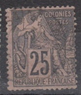 #108# COLONIES GENERALES N° 54 Oblitéré Saint Louis (Sénégal)