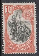 COTE DES SOMALIS N°64 N* - Côte Française Des Somalis (1894-1967)