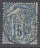 #108# COLONIES GENERALES N° 51 Oblitéré En Bleu CORR D´ARMEES St-Louis (Sénégal)   RARE