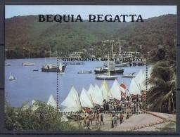 St.Vincent Grenadines - 1988 Bequia Regatta Block MNH__(TH-14208) - St.Vincent Und Die Grenadinen