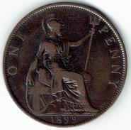 Great Britain, One Penny 1899.. - 1816-1901 : Muntslagen XIX° Eeuw
