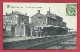 Gembloux - Vue Intérieure De La Gare ... Personnel De La Gare - 1910 ( Voir Verso ) - Gembloux