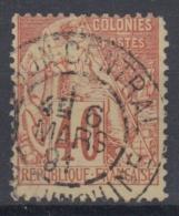 #108# COLONIES GENERALES N° 57 Oblitéré Saigon Central (Cochinchine)