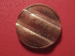 2 Centimes D'euro 2008 Fauté - Double Avers Portrait Et Erreur De Planche 5384 - Variétés Et Curiosités