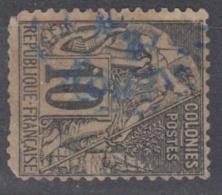 #108# COLONIES GENERALES N° 51 Oblitéré En Bleu Indigo Nossi-Bé