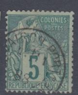 #108# COLONIES GENERALES N° 49 Oblitéré Saigon Port (Cochinchine)